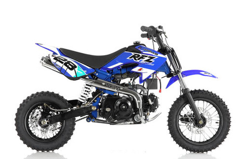 Apollo DB-28 110cc AUTOMATIC pit bike - Free Shipping, Fully Assembled/Tested