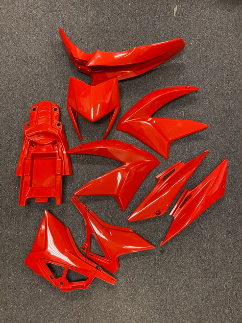 Complete Plastics Kit for RPS Hawk 250