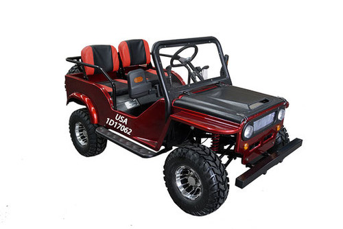 Thunderbird Military 125cc Mini Jeep Sport - Free Shipping, Fully Assembled, Tested