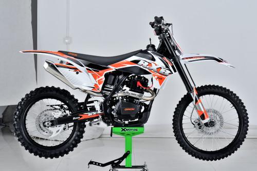 Complete Plastics Kit for Orion RXB250 dirt bike