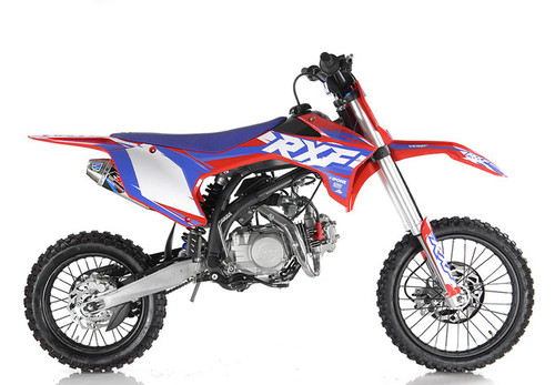 Apollo RXF 150 Freeride  MANUAL Dirt Bike - Free Shipping, Fully Assembled/Tested