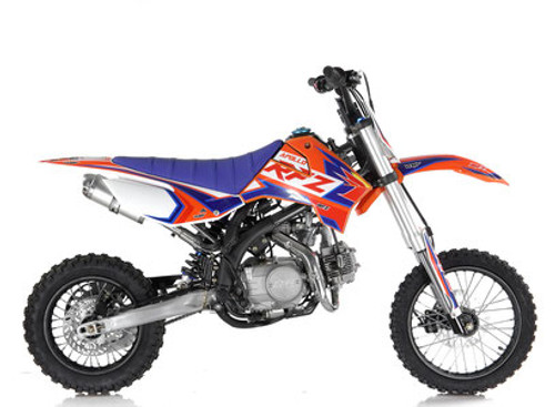 NEW FRAME Apollo RFZ DB X-15 125cc MANUAL Pit Bike - Free Shipping, Fully Assembled/Tested