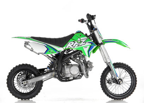 NEW FRAME Apollo RFZ DB X-16 125cc AUTOMATIC pit bike - Free Shipping, Fully Assembled/Tested