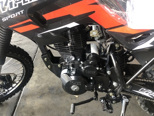RPS Viper 150cc Dirt Bike ELECTRIC START - Free Shipping, Fully Assembled/Tested