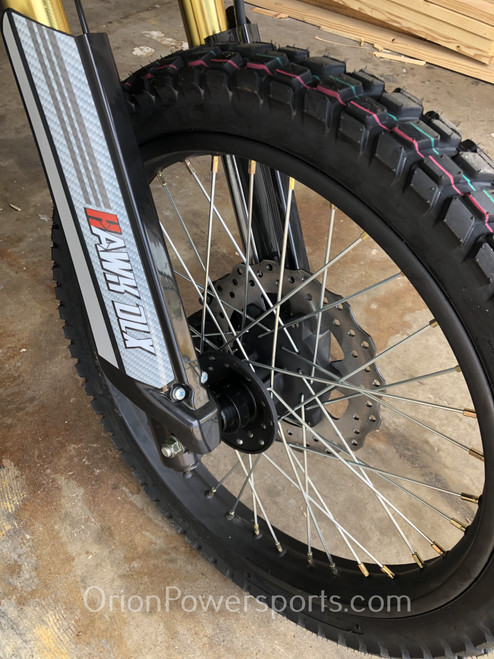 """RPS Hawk 250 Fuel Injected Model 21"""" Front Rim Assembly"""