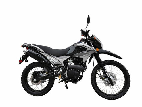 BSR Raven 250XL Enduro Motorcycle - Free Shipping, Fully Assembled/Tested