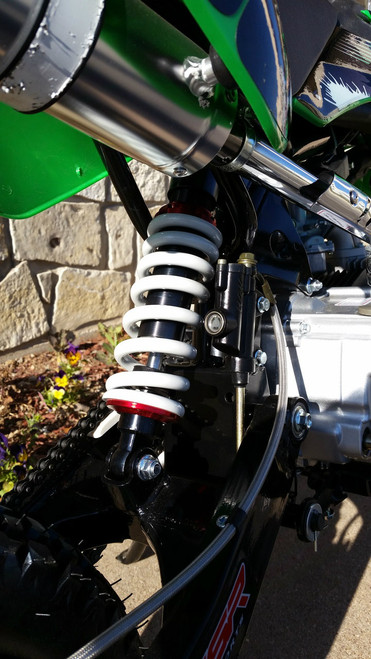 Orion Pit Bike 300mm Dual Adjustable Rear Shock w/Detached