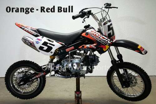Orange Red Bull