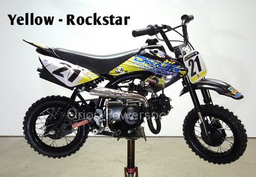 Orion 21A-70cc SEMI AUTO Pit Bike - Free Shipping, Fully Assembled/Tested