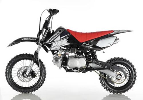 Apollo RFZ DB X-4 110cc SEMI AUTO pit bike - Free Shipping, Fully Assembled/Tested