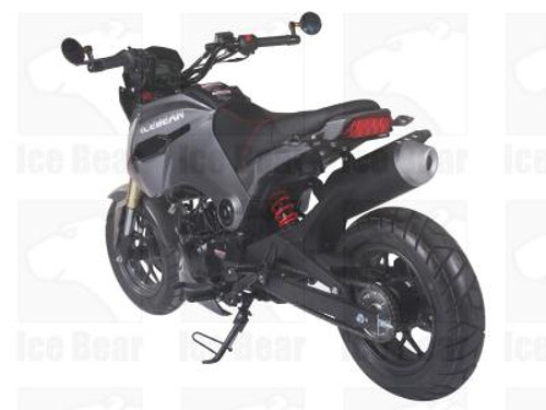 Icebear Fuerza 125cc Motorcycle - Free Shipping, Fully Assembled/Tested