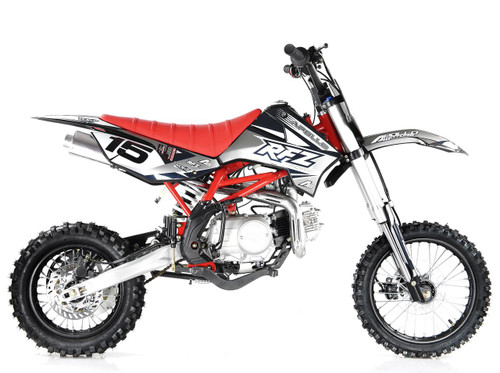 Apollo RFZ DB X-15 125cc MANUAL Pit Bike - Free Shipping, Fully Assembled/Tested