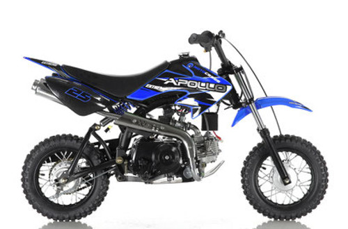 Apollo DB-25 70cc AUTO Pit Bike - Free Shipping, Fully Assembled/Tested