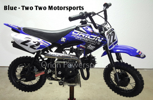 Orion Pit Bikes & Dirt Bikes, 125cc Orion, 70cc Orion