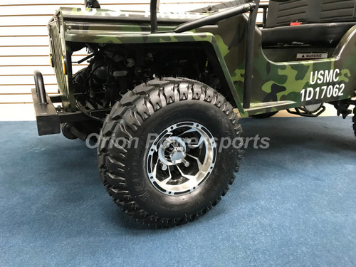 Thunderbird Military 125cc Mini Jeep - Free Shipping, Fully Assembled,  Tested
