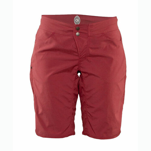 Women's Savvy Short in Cayenne by Club Ride