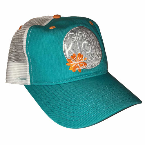 outdoor DIVAS  GKA TRUCKER HAT TEAL