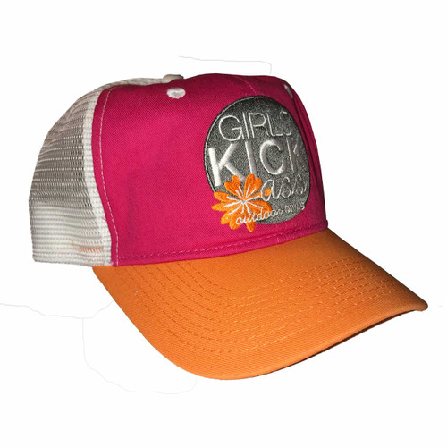 outdoor DIVAS  GKA TRUCKER HAT FUSCHIA