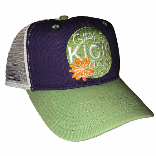 outdoor DIVAS  GKA TRUCKER HAT PURPLE