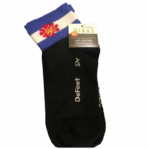 outdoor DIVAS  DIVA SOCKS CO FLAG