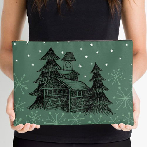 outdoor DIVAS  Vail Covered Bridge Clutch Lg