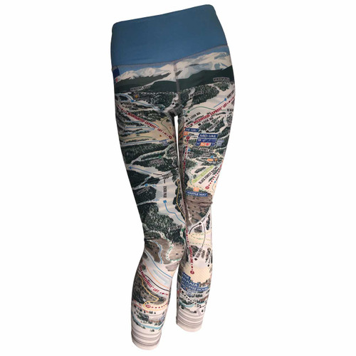 Mountain Legs  VAIL MAP LEGGINGS