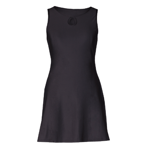 Women's X-Dress Ruu Muu in Black by Nuu Muu
