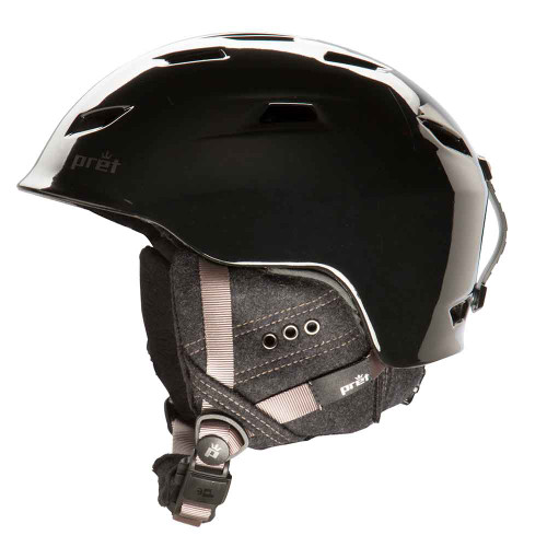 Luxe Helmet by Pret in Black Pearl