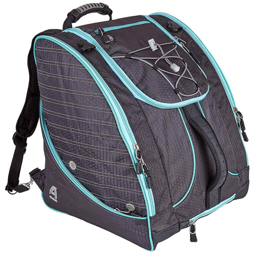 Women's Athalon  Deluxe Everything Boot Bag in GraphiteTeal