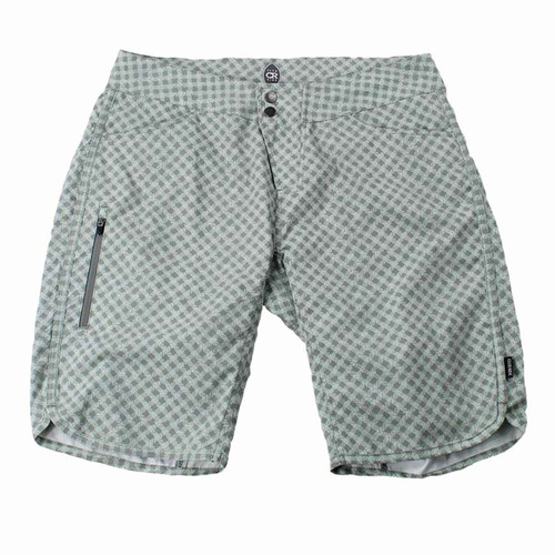 Savvy Link Print Short in Aqua