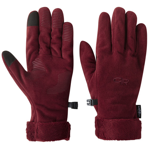 Outdoor Research  W's Fuzzy Sensor Gloves