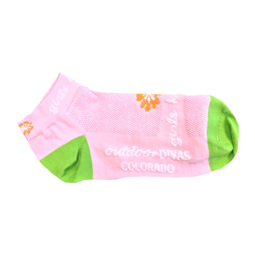 Diva Flower Socks