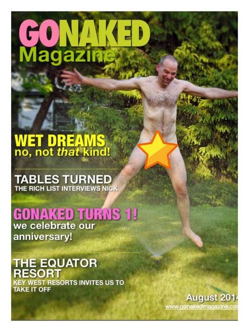 GoNaked Magazine - Issue 13