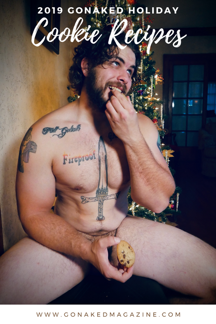 """2019 GoNaked Cookie Recipe Book - Includes """"Santa's Visit"""" Video"""