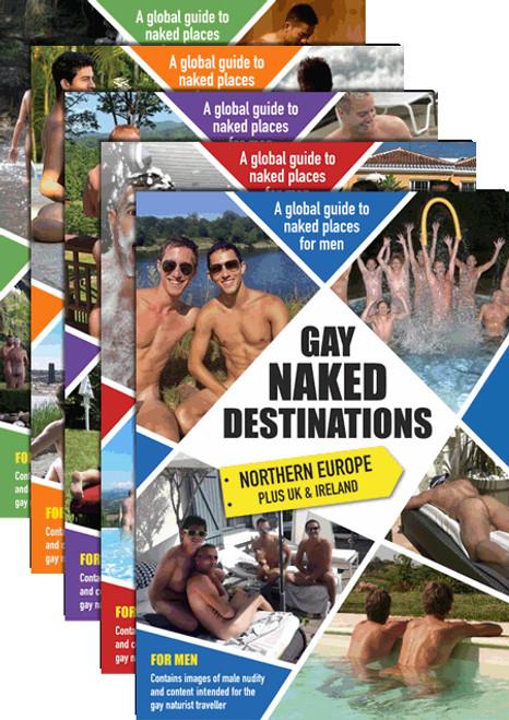 GAY NAKED DESTINATIONS - Five book bundle!