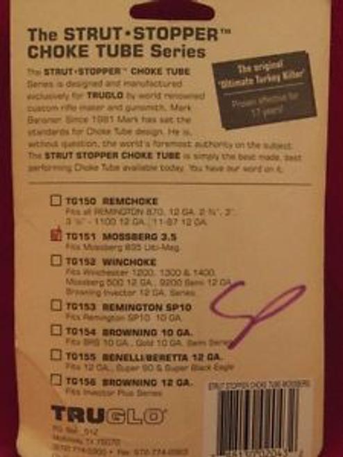 Truglo Strut Stopper Choke Tube - Mossberg 835 Ulti-mag - TG151