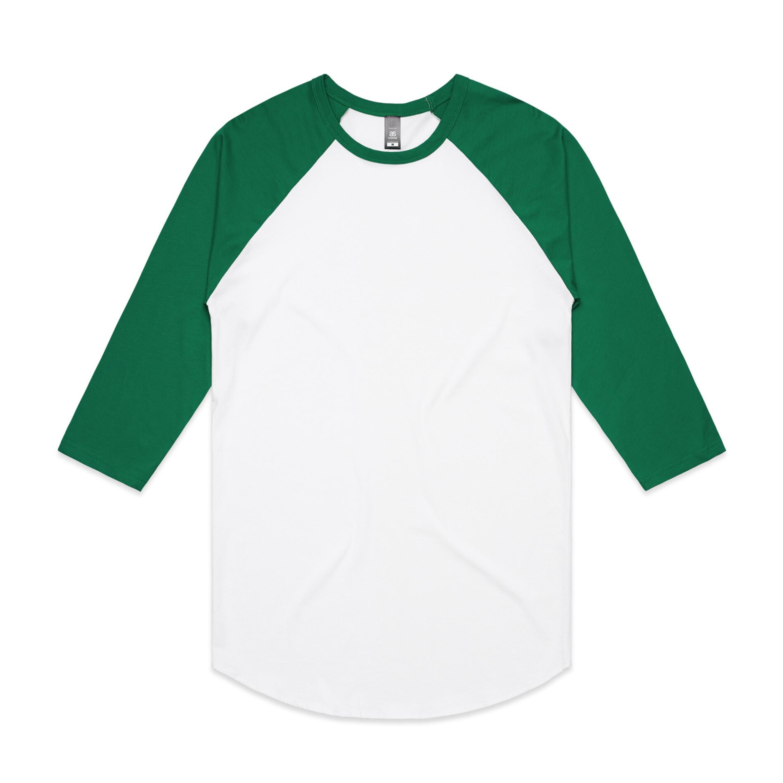 WHITE/KELLY GREEN