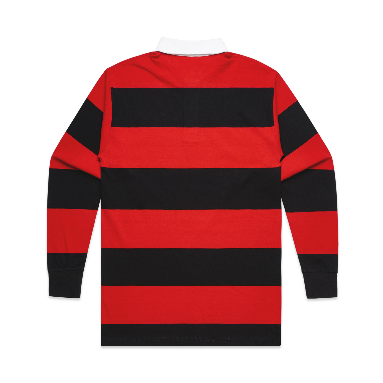 BLACK/RED - BACK