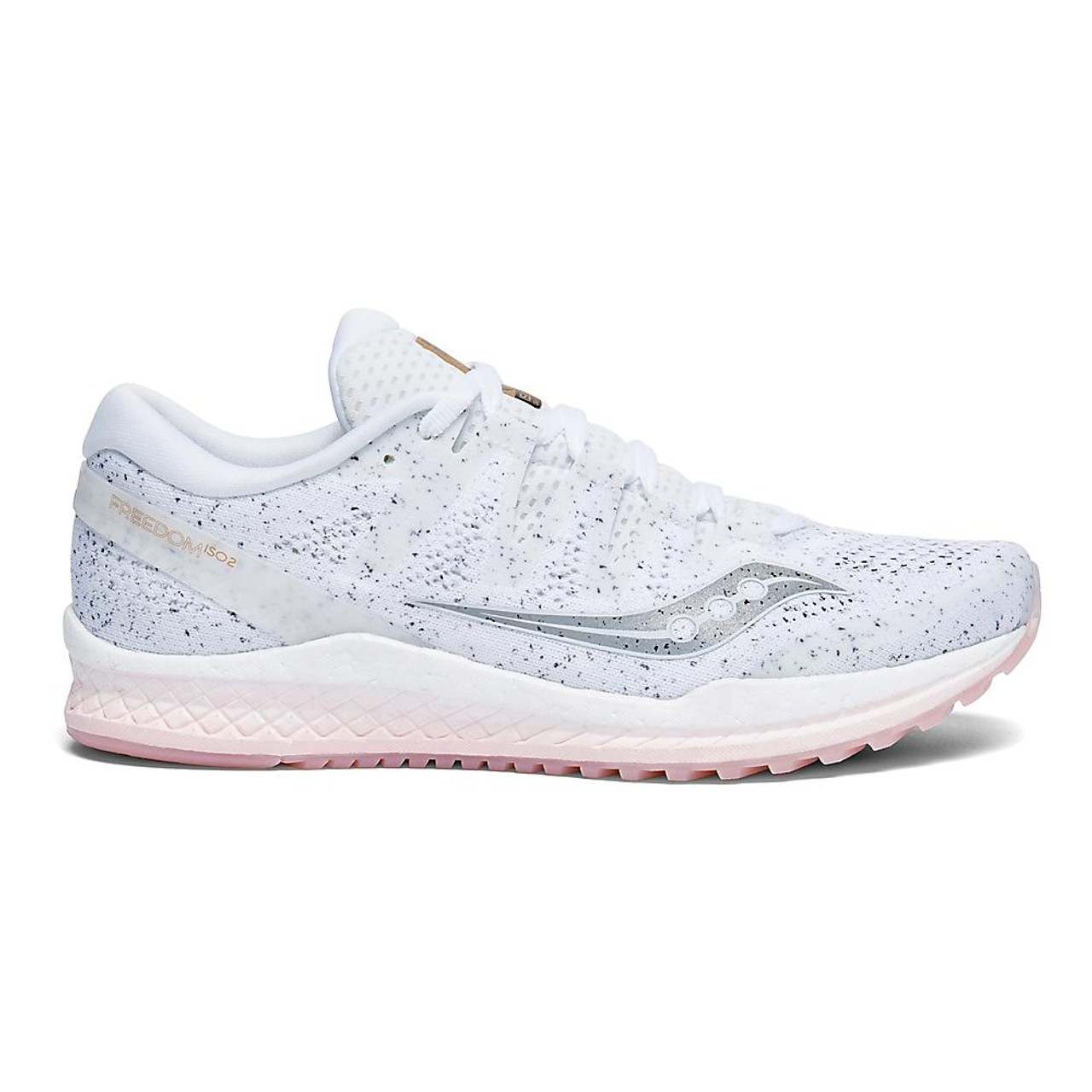 Wode los hombres Saucony Freedom ISO 2 Running Shoe Size 6 M White