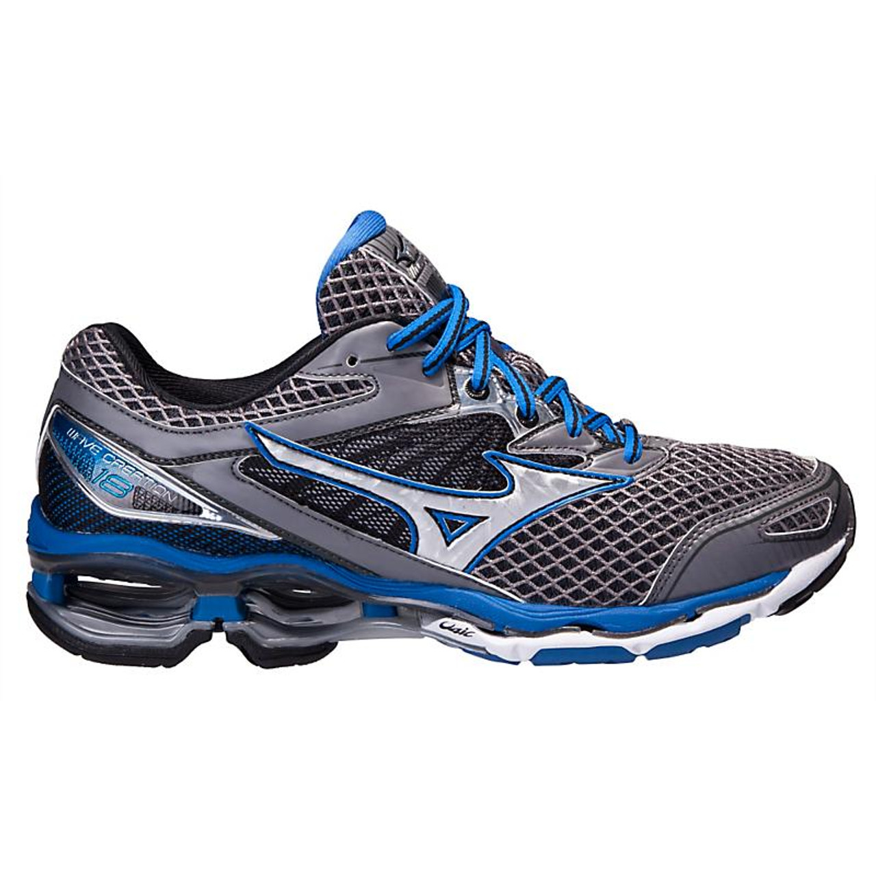 new style 389f5 7ffcc Men s Mizuno Wave Creation 18 color-Steel Blue