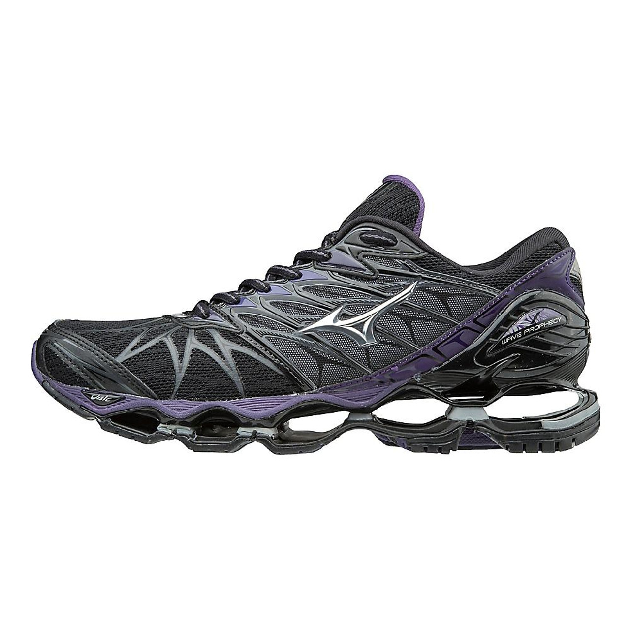 purchase cheap ee513 2e7f6 Women s Mizuno Wave Prophecy 7 color-Black Purple