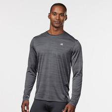 6d39b58057d Men's R-Gear Runner's High Printed Long Sleeve|color-Steel/Black