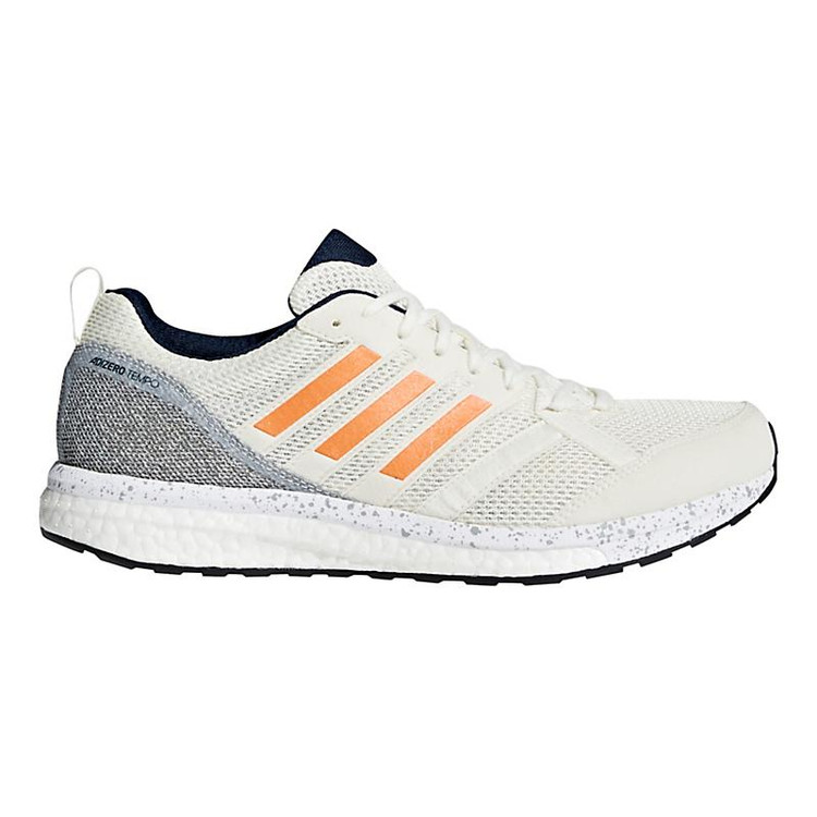 brand new fc09b 0c4a7 Mens adidas adizero Tempo 9color-Off WhiteOrange