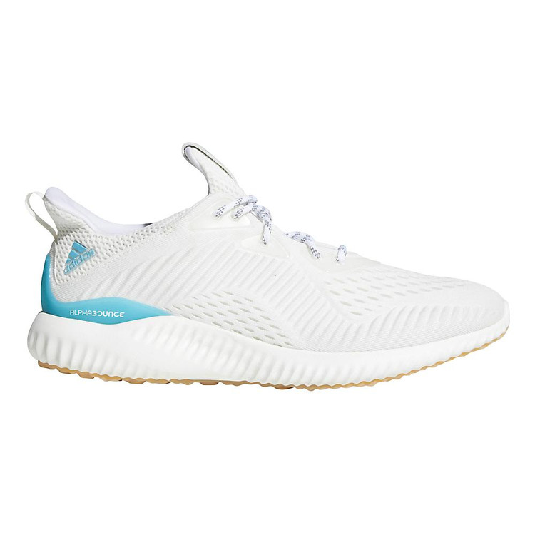 new style e357a aa9a0 Men s adidas alphabounce Parley color-White Blue