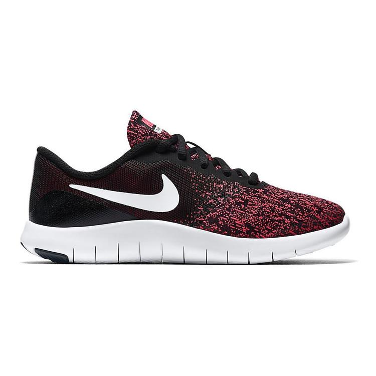 cheaper ee820 eb517 Girls Nike Flex Contact Grade School color-Black Pink