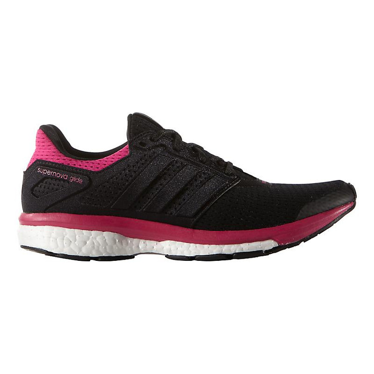 finest selection bf3a5 c7ec0 Women s adidas Supernova Glide 8 color-Black Equipment Pink