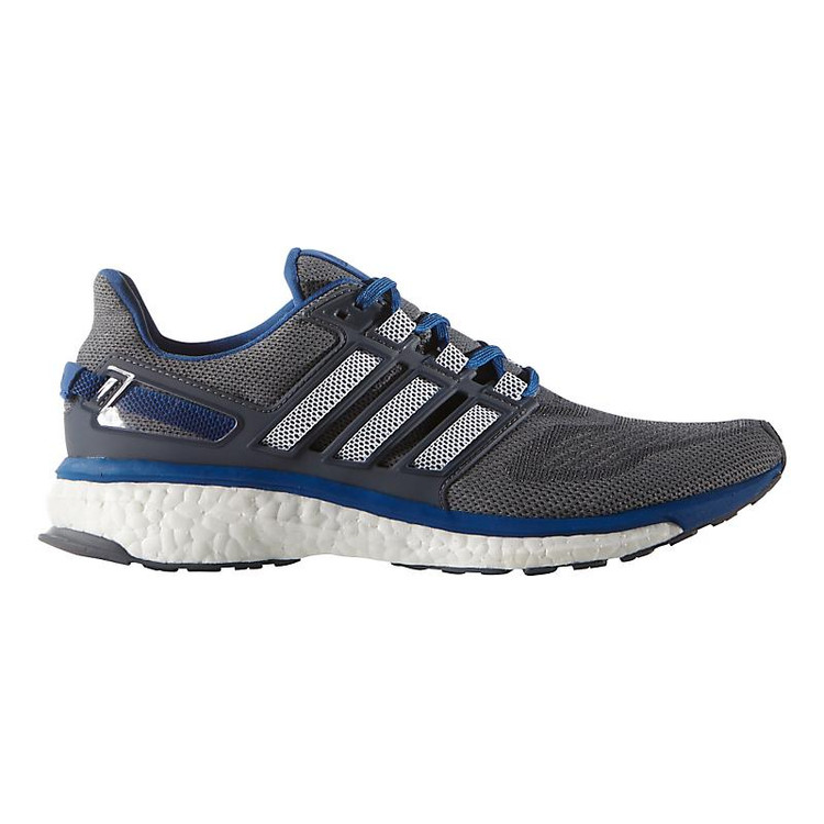the latest fee5b 4e41a Men s adidas Energy Boost 3 color-Grey Equipment Blue