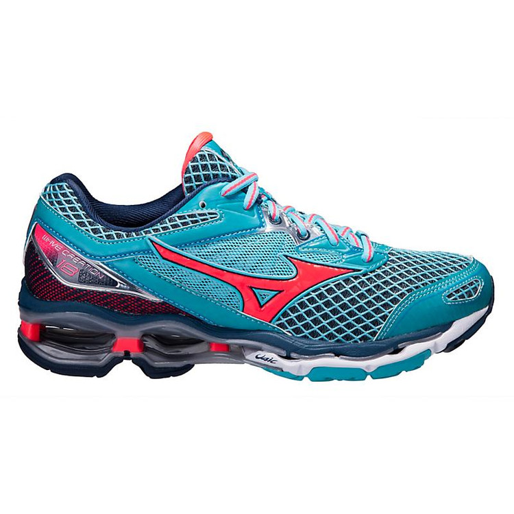separation shoes ded1e 6f114 Women s Mizuno Wave Creation 18 color-Blue Pink