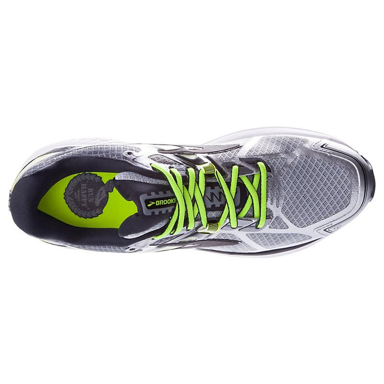 Most Popular Mens Green Brooks Ravenna 7 Running Shoes (2E