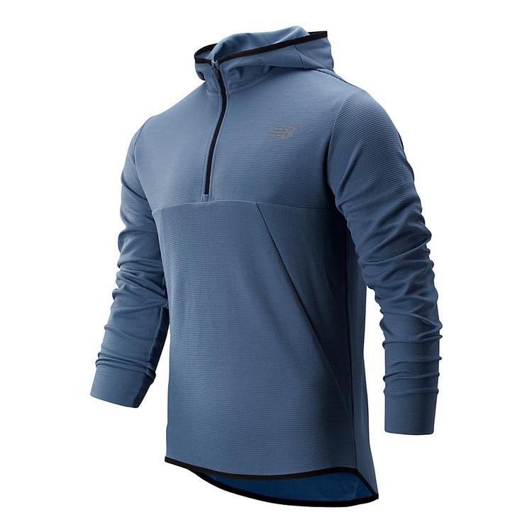 new balance tenacity hooded zip